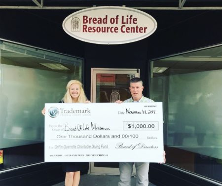 Bread of Life, recipient of Griffin-Guerrette Charitable Giving Fund