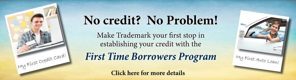 First Time Borrowers Top Banner Website