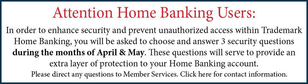RSA Notice - April and May
